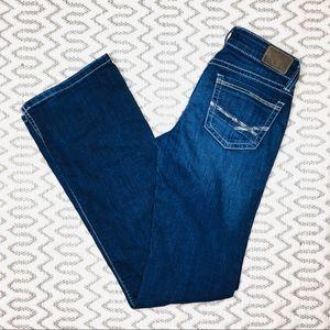 BKE Stella Bootcut Jeans 25L Dark Denim